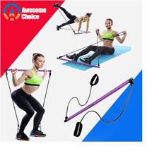 Bandas de resistencia para Yoga y barra de Pilates
