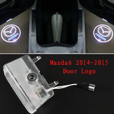 1pair LED 3D Logo laser Projector door light For MAZDA 6 ATENZA  M6 2014-2016