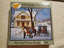 New 500 Piece Jigsaw Puzzle Special Delivery Bits & Pieces John Sloan