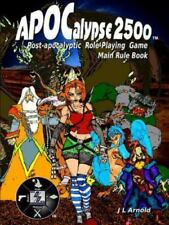 Apocalypse 2500 Main Rule Book by J. L. Arnold (2015, Paperback)