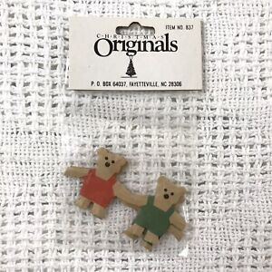 christmas originals paper teddy bears