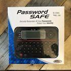 RecZone Password Safe Model 595 Backlit LCD Built in Memory