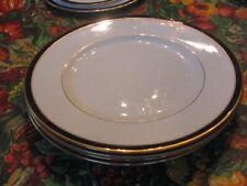 4 Lenox Federal Cobalt Pattern Salad Plates EUC