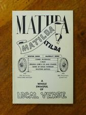 A Whole Swagful of Verse from the Waltzing Matilda Country, 1981, Winton, Qld