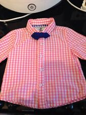 Cotton Blend Checked NEXT Clothing (0-24 Months) for Boys