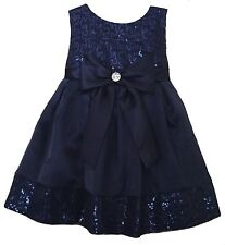 Sweet Heart Rose Dress with Sequins & Bow - Size 2