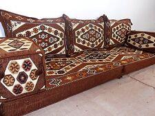 arabic seating,arabic cushion,oriental seating,brown sofa,floor seating - MA 30