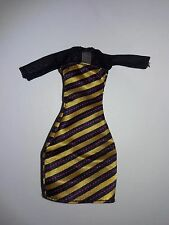 Monster High Doll Create A Monster Insect Bee Girl Black Yellow Dress