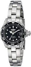 Invicta Mujer 17032 pro Diver Cuarzo 3 Mano Negra Esfera Reloj