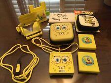 SpongeBob GameBoy Advance SP AGS-101 Backlit GBA LOT **READ DESCRIPTION NOTES**