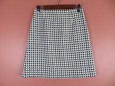 Sk10105- Talbots Woman 65% Wool 5% Rabbit Hair Pencil Skirt Multi-Color Geo 6P