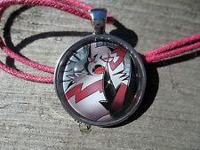 Pokemon Card Trading Zangoose Ruby sapphire Charm Pendant Glass Necklace Cosplay