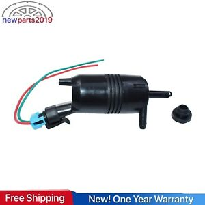 For Chevrolet Chevy Impala Lumina Malibu Windshield Washer Pump &Connector Plug