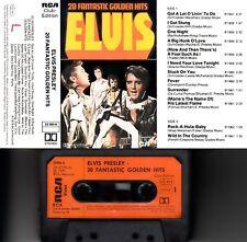 ELVIS Presley - 20 Fantastic Golden Hits > MC Musikkassette, RCA 1979