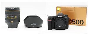 Nikon D500 4K + NIKKOR AF-S DX 16-80mm f/2.8-4E ED VR. 2 YEARS WARRANTY
