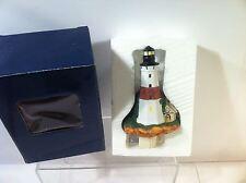 LIGHTHOUSE NIGHT LIGHT--HOME DECOR--CERAMIC--FREE SHIP--NEW