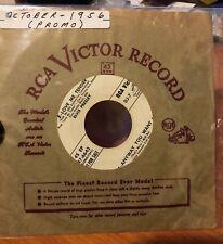 ELVIS PRESLEY ~ RCA VICTOR  DJ-7 ~ White Label Promo ~ With Original Sleeve RARE