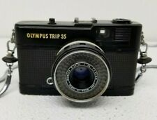 OLYMPUS Trip 35 Compact 35mm Black Body 1:2.8 40mm Tested
