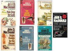 Travis McGee Novels lot of 7 Paperbacks by John D. MacDonald Including #1