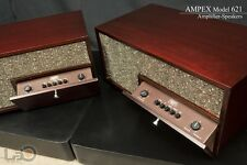 AMPEX MODEL 621 Amplifier-Speaker Pair (Worldwide Shipping)
