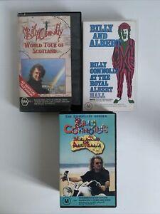 Billy Connolly's X3 VHS World Tour Of Australia World Tour Of Scotland Royal Al