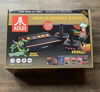 SHIPS SAME DAY *Box Only* RARE Gamestop Display Atari Flashback 9 Gold Console