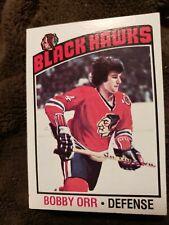 1976 Topps Bobby Orr Hockey Card