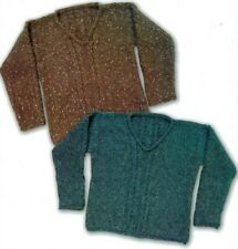 New ListingKnitting Pattern by Designs by Louise Betsy's Chunky V-Neck