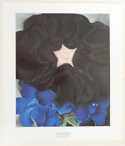 GEROGIA O'KEFFE LITHOGRAPH PRINTED BY MUSEUM