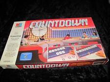 """COUNTDOWN"" TV Board Game MB Games 1986 RARE VORDERMAN/MATHER BILLING"