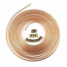 Steel Zinc Copper Nickel Brake Line Tubing Kit 1/4'' OD 25 Foot Coil Roll