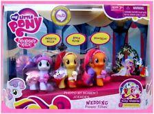 My Little Pony 2011 WEDDING FLOWER FILLIES Sweetie Belle Apple Bloom Scootaloo