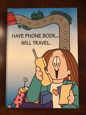 New 1994 Cathy Address Book Guisewhite Studios Have Phone Will Travel