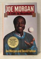 Joe Morgan A LIFE IN BASEBALL Hardcover Book