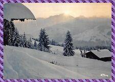 Carte postale - Morteau - Neige et soleil