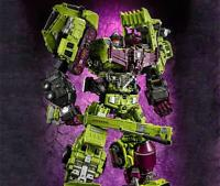 Jinbao Gt Oversized Devastator Figure Ver Action Figure New Yellow