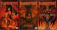 Lot Of  3 PURGATORI EMPIRE 1-3 Complete Set 1 2 3 Chaos Comics Horror 2000