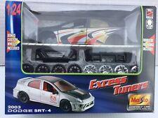 Maisto Assembly Line Excess Tuners 2003 Dodge Neon SRT-4 model kit 1/24 NIP NIB