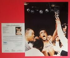 "MUHAMMAD ALI SIGNED 16""X20"" PHOTO CERTIFIED AUTHENTIC WITH JSA COA LOA psa"