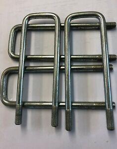 4  U-bolt M10 thread - 160mm x 50mm