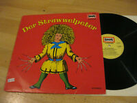 LP Der Struwwelpeter Hörspiel Heinrich Hoffmann Vinyl Europa Jugend 115 080.4