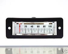 10pc Panel Meter SC-15 50x15mm 0~100% Meter FS=DC2.0V Flash Star