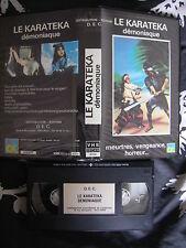Le Karateka Demoniaque de Li Wang Tien, VHS CK Vidéo, Kung-Fu, RARE!!