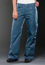 Women's Oakley Aerial Ski Snow Snowboard Pants Blue Rock Size XL