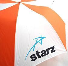 """Neuf Starz TV Réseau Promotionnel Parapluie Oversize Auto Ouvert 42 """" Arc"""