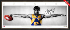 Josh Kennedy Signed Wings West Coast Eagles Official AFL Print Framed AFLPA COA