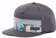 Mens Billabong Tribong Camo Snap Back Classics Cap. One Size. NWT. RRP $39.99