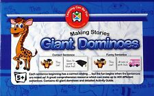 Making Stories Giant Dominoes Learning to Read Early Reading Sentences