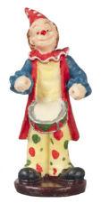 Ornamental Clown Drumming, Dolls House Miniature, Miniature Ornament