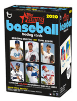 2020 TOPPS HERITAGE BASEBALL BLASTER BOX (READY TO SHIP)